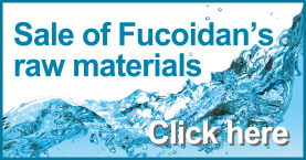 sale of fucoidan raw materials